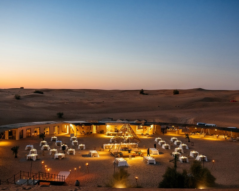 Sonara Camp: Sunset Experience Location