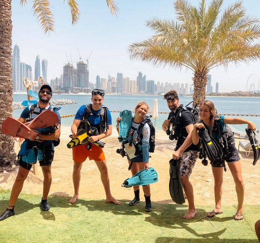 Scuba Diving Fujairah Ticket