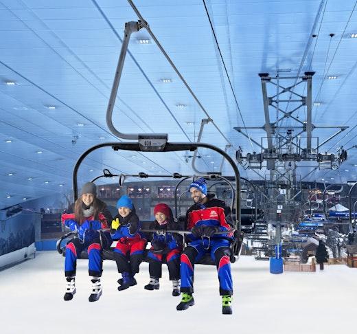 Ski Dubai: Snow Daycation Pass Ticket