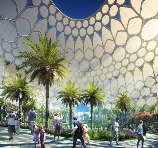 Excursion to Expo 2020: Full Day Sightseeing Tour Ticket