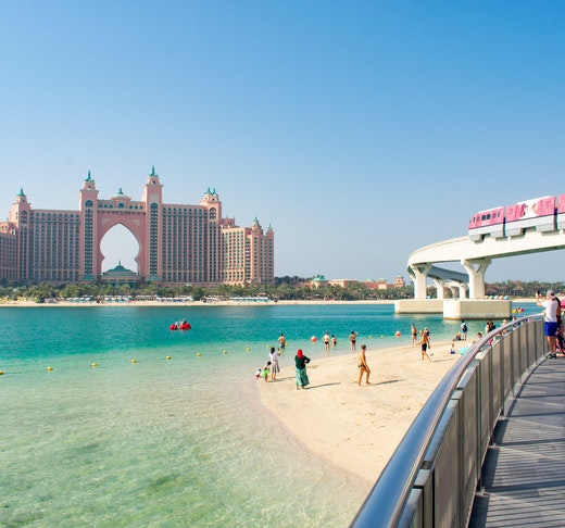 The Palm Monorail: Gateway to Nakheel Mall