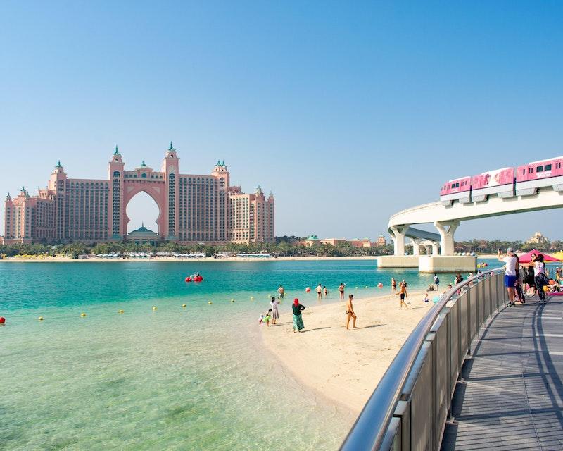 The Palm Monorail: Gateway to Atlantis Ticket