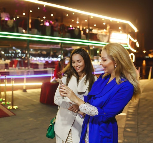 Luxury Dubai Canal Cruise + La Perle Silver Pass Location
