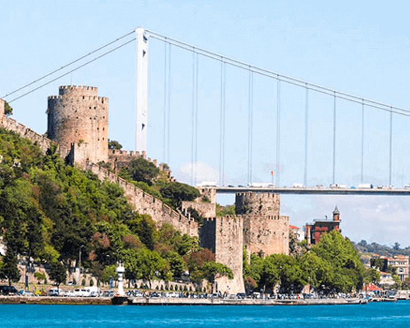 Bosphorus Cruise with Asian Side & Dolmabahce Palace Location