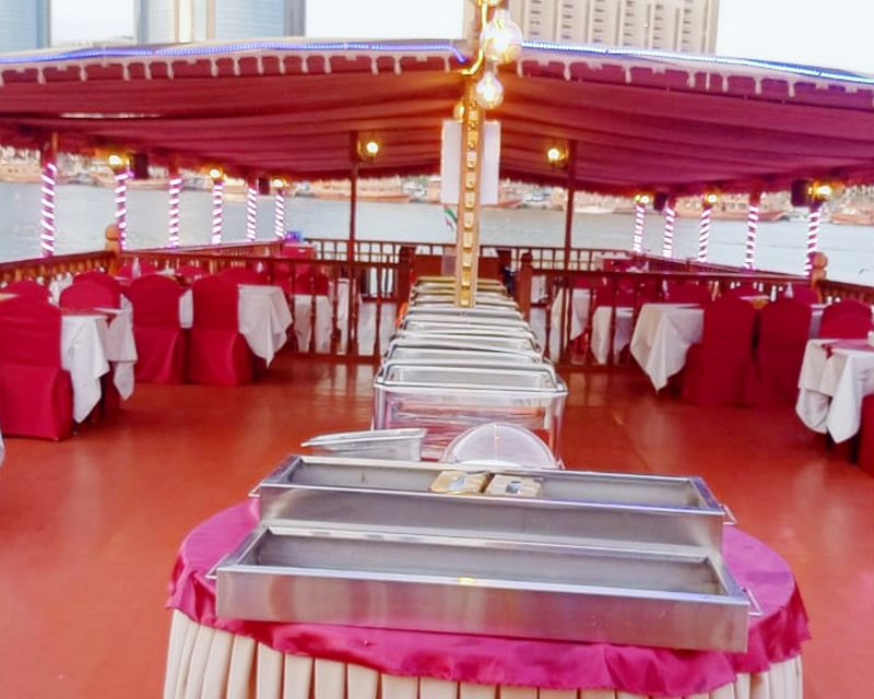 Standard Dhow Cruise at the Creek Location