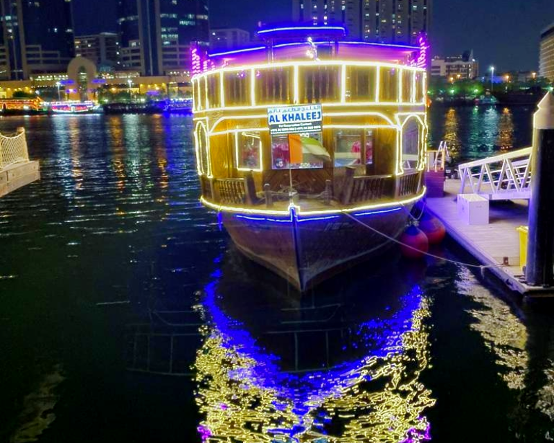 Standard Dhow Cruise at the Creek Tripx Tours