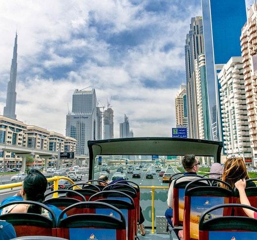 Dubai City Sightseeing Tour: 24 Hours Hop on Hop Off