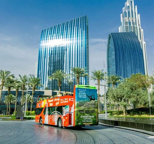 Dubai City Sightseeing Tour: 24 Hours Hop on Hop Off Ticket