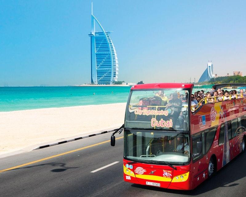 Dubai City Sightseeing Tour: 24 Hours Hop on Hop Off Category