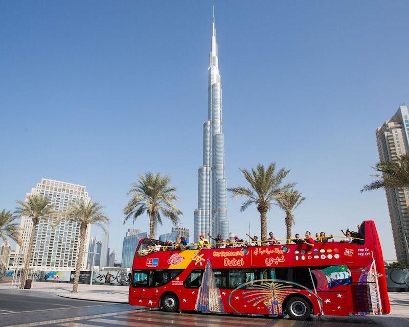 Dubai City Sightseeing Tour: 24 Hours Hop on Hop Off Discount