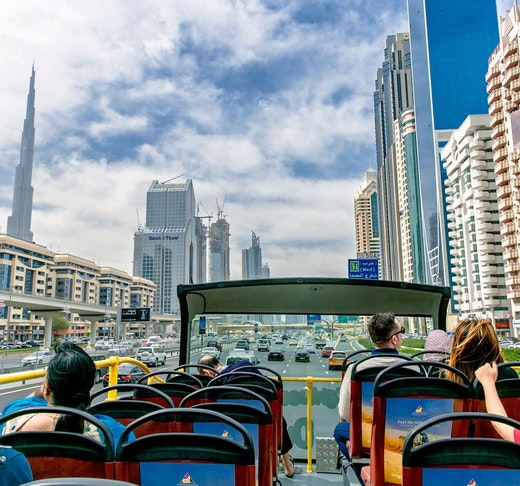 Dubai City Sightseeing Tour: 48 Hours Hop on Hop Off