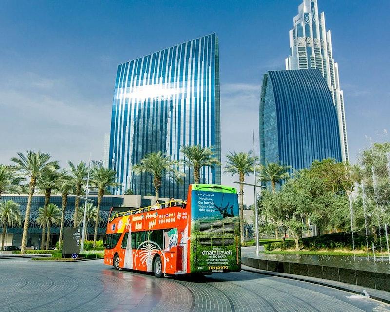 Dubai City Sightseeing Tour: 48 Hours Hop on Hop Off Ticket