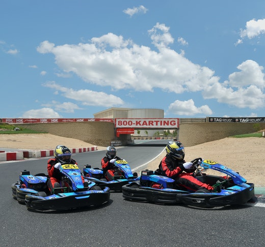 Outdoor Karting at Dubai Autodrome Discount