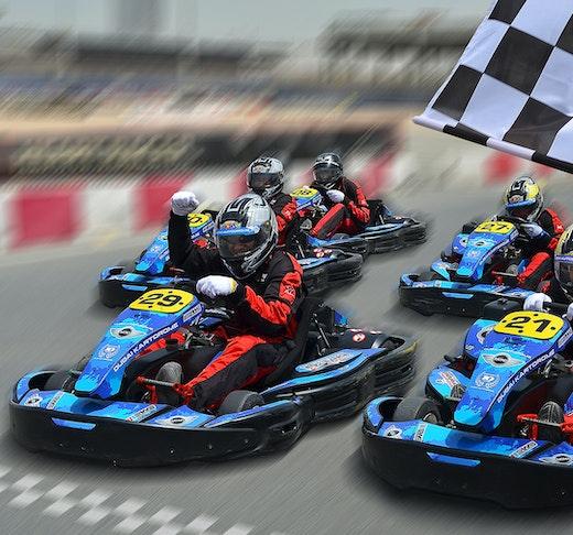 Outdoor Karting at Dubai Autodrome Price