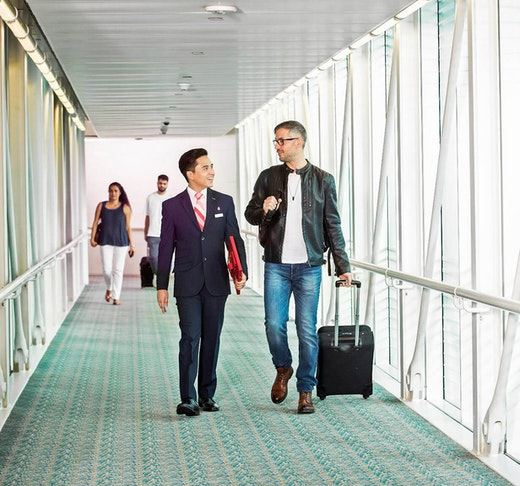 Marhaba Service: Departure Meet & Greet Location