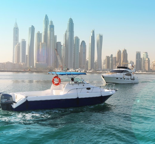 Dubai Private Yacht: 32 Feet