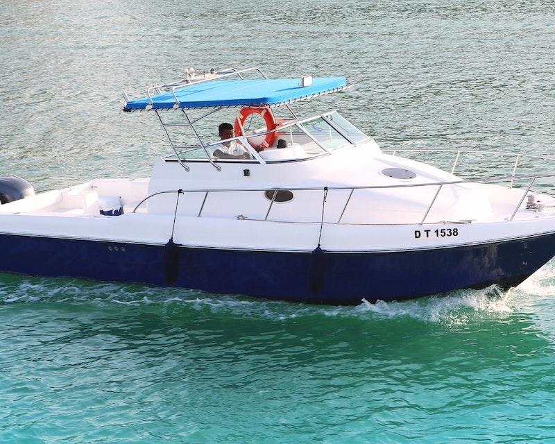 Dubai Private Yacht: 32 Feet Ticket