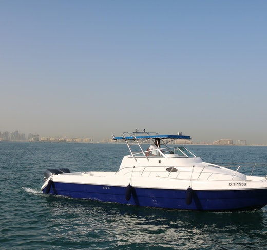 Dubai Private Yacht: 32 Feet Discount