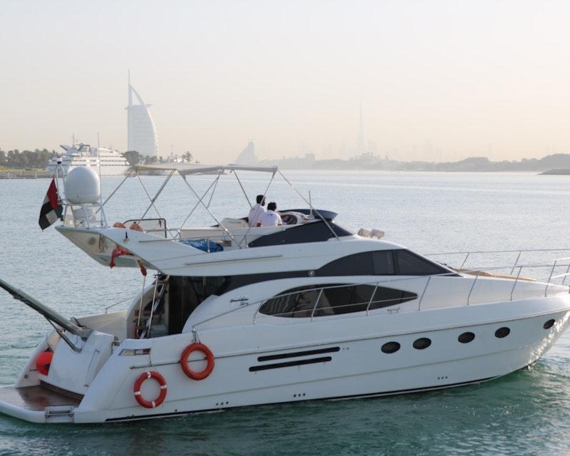 Dubai Private Yacht: 52 Feet Ticket