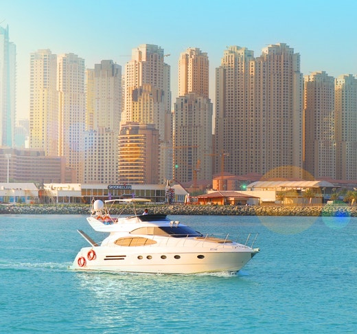 Dubai Private Yacht: 52 Feet Category