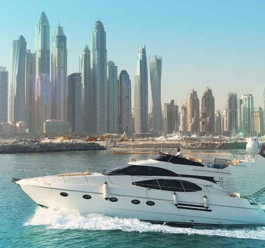 Dubai Private Yacht: 52 Feet Location