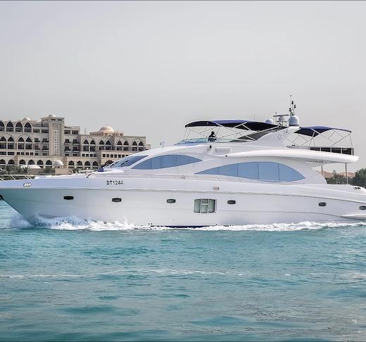 Dubai Private Yacht: 88 Feet Ticket