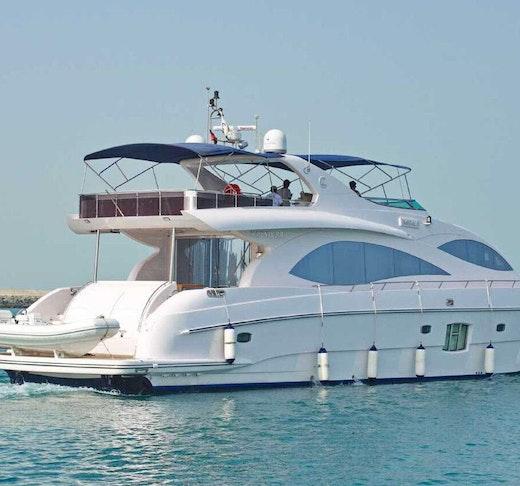 Dubai Private Yacht: 88 Feet Discount