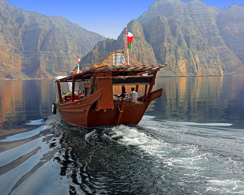 To Khasab: Full Day Trip with Dhow Cruise & Dolphin Watching Ticket