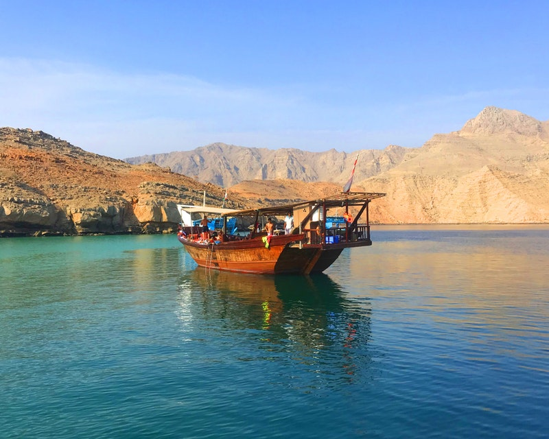 To Khasab: Full Day Trip with Dhow Cruise & Dolphin Watching