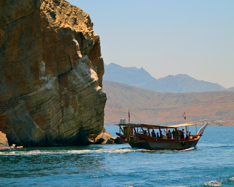 To Khasab: Full Day Trip with Dhow Cruise & Dolphin Watching Tripx Tours