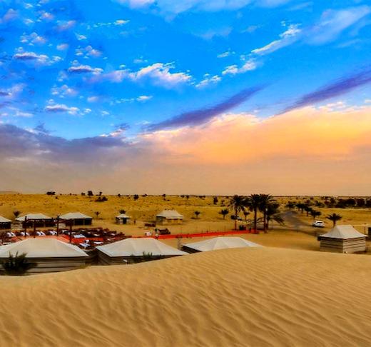 Caravanserai Bedouin Desert Dinner Experience Tripx Tours