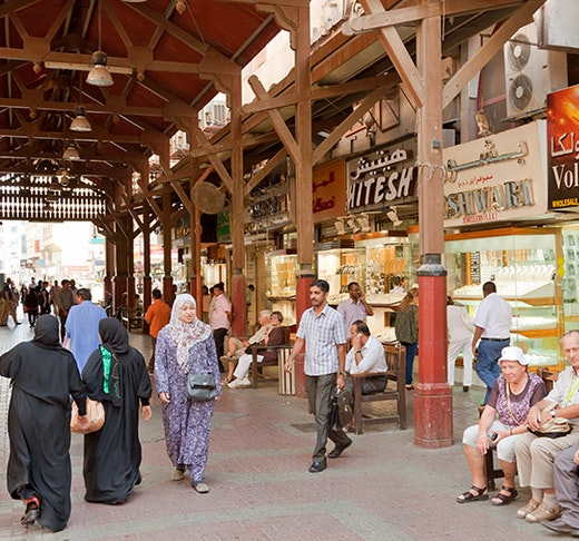Traditional Dubai Shopping Tour