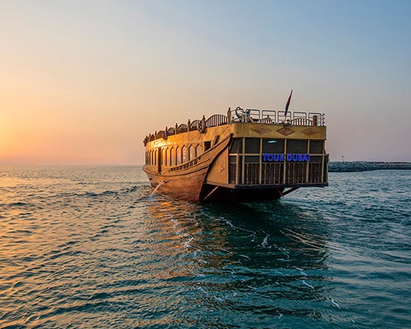 Dubai Creek Guided Cruise Ticket