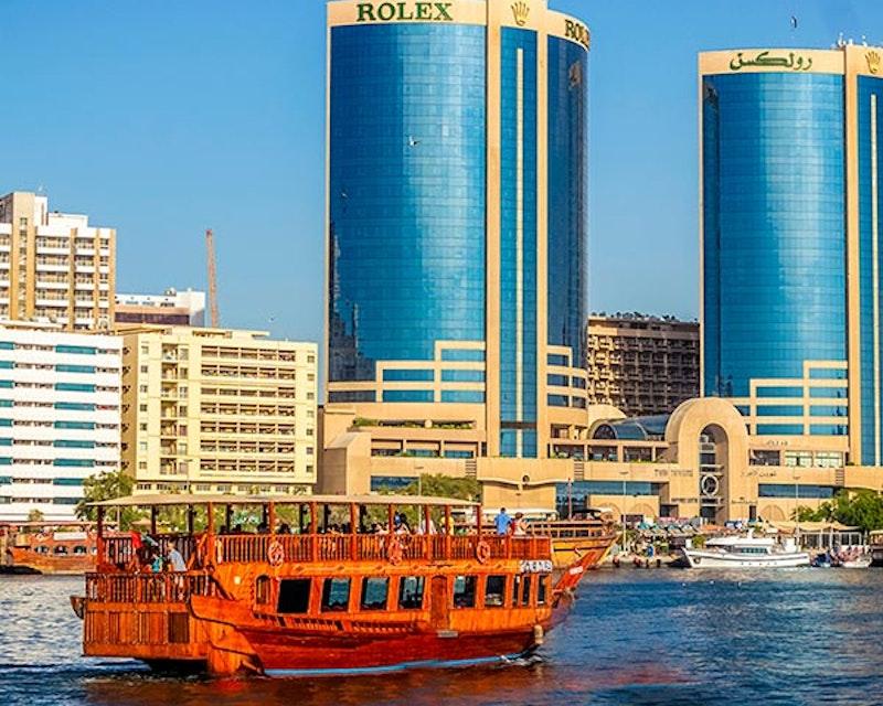 Dubai Creek Guided Cruise